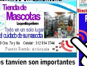 Tienda de Mascotas Puerto Berrio  Quèdate en Casa y Pide a Domicilio ...Nosotros se lo Llevamos
