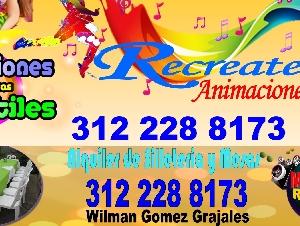 RECREATE ANIMACIONES - PUERTO BERRIO