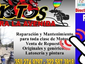 TALLER DE MOTOS Y PINTURA LA AVENIDA - PUERTO BERRIO